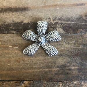 Silpada Sterling Silver Flower Pendant